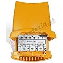 Amplificador de mástil 1e BI-BII-DAB-FM-UHF 41dB