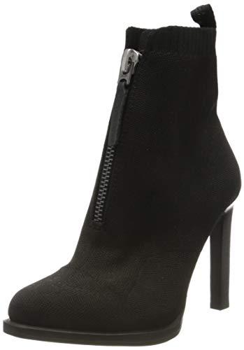 G-STAR RAW Strett Heel Boot, Botines para Mujer, Negro Black 9082-990, 36 EU