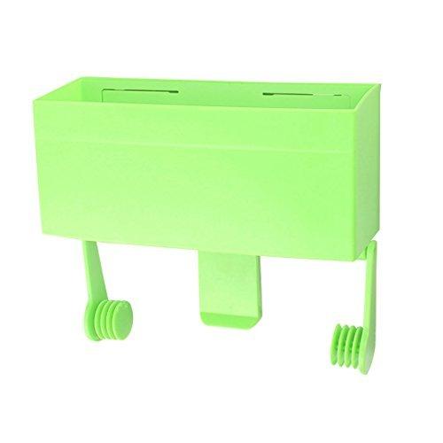 DealMux Kunststoff Haushalt Kühlschrank Fresh Food-Verpackung Film Roll-Beutel-Halter-Speicher-Fall Grün