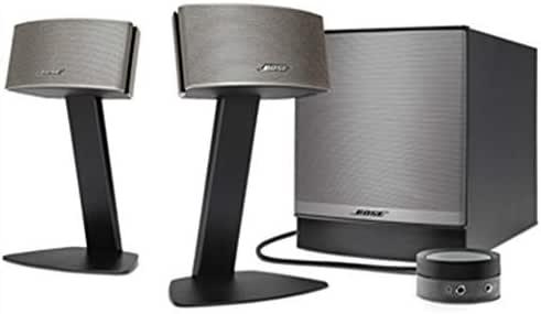 Bose Companion 50 Multimedia Speaker System - Black/Champagne