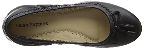 Hush Puppies Damen Lexa Heather Bow Ballerinas Schwarz (Black)