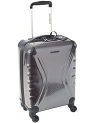 Savebag 18062/48 - Petite Valise TSA 4 Roues 48 Cm - Couleur : Gris foncé - Cap: 30 Litres