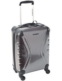Savebag 18062/48 - Petite Valise TSA 4 Roues 48 Cm - Couleur : Gris anthracite - Cap: 30 Litres