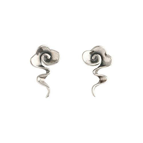 Ohrringe S925 Reinem Silber Ohrringe Original Ohrringe Literarischen Temperament Schmuck Weiblich