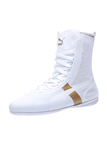 Puma Eskiva Hi Evo, Sneaker Basse Donna Bianco / oro