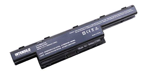 INTENSILO Li-Ion Akku 12000mAh (10.8V) für Laptop, Notebook Acer Travelmate 7750Z, 7750ZG, 8472, 8473-Serie, 8572, 8572-Serie wie Acer AS10D31. -