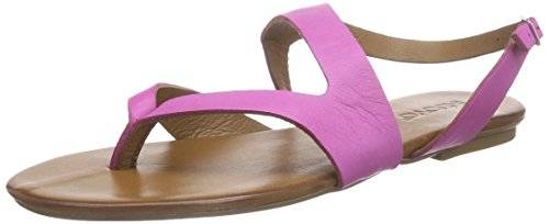 Inuovo 6336, Sandales Bout Ouvert Femme Rose (FUXIA)