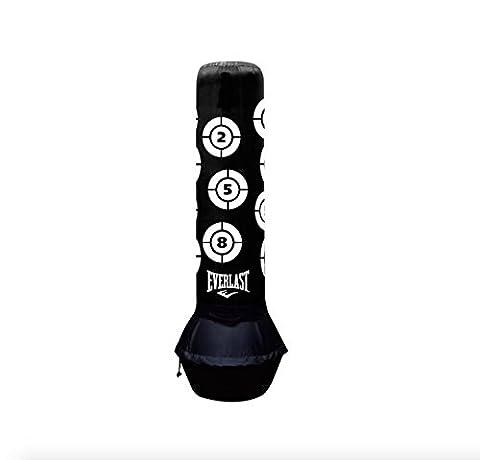 Everlast Power Support pour pied sur pied inclinable Punch Sac de frappe de boxe d'entraînement fitness Formation Core Tonique Force et cardiaque d'exercice Fat Burning