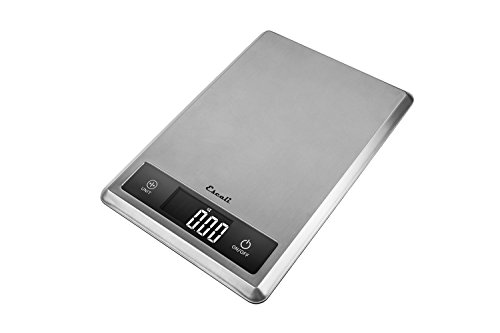 Escali T115S Tabla Ultra Thin Digital Scale, 11 Lb/5Kg by Escali