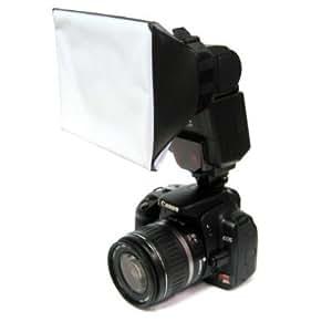 Mini Universal Studio Soft Box Flash Diffuser for Canon, Nikon, Olympus, Pentax, Sony, Sigma, Minolta Metz Sigma Sunpak,BV & Jo, Yongnuo & Other External Flash Units,YN-460,YN-465,YN-560,580ex,420ex,380ex,430ex,SB-900,SB-800,SB-600.
