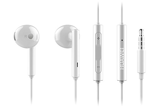 HUAWEI in-Ear Casque avec Microphone AM116, Blanc