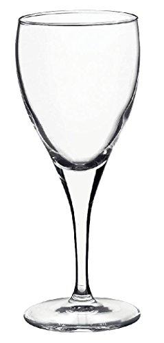 12 x Weingläser, Weißweingläser, Glas, transparent, 24.5 cl, Ø 7.5 cm, Höhe: 18.0 cm