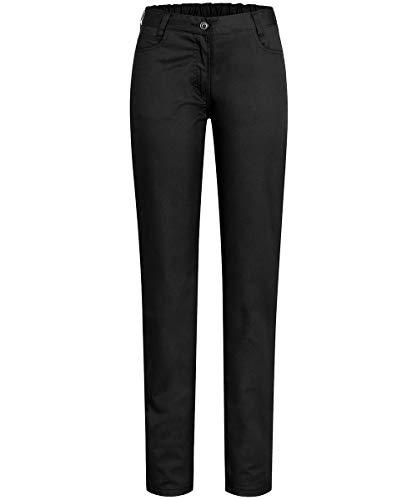 GREIFF Damenhose Five Pocket Cuisine Basic 5319 Regular Fit, Farbe: Schwarz, Größe: 46