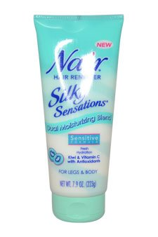 Nair W-BB-2089 Nair Silky Sensations Hair Remover, Sensitive Formula - 7,9 oz - Haarentferner -