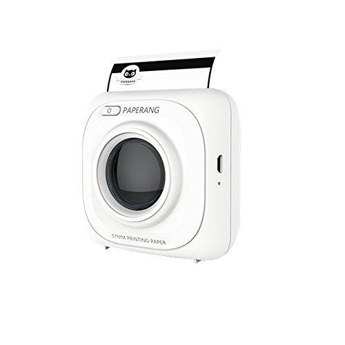 Imprimante thermique mini portable Bluetooth mobile photo impression machine de poche