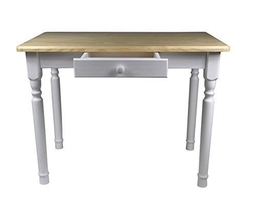 Esstisch Mit Schublade Küchentisch Tisch Massiv Kiefer Speisetisch