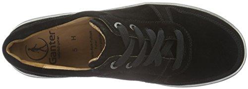 Ganter HELENA, Weite H, Sneakers Donna Nero (Schwarz (schwarz 0100))