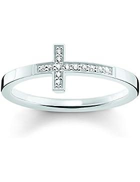 Thomas Sabo Ring TR2140-051-14 Sterling Silber Kreuz