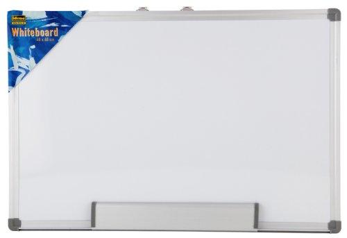 Preisvergleich Produktbild Idena 568019 - Whiteboard Alu-Rahmen, ca. 40 x 60 cm, mit Stiftablage
