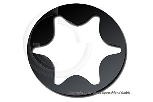 Preisvergleich Produktbild TORX T5 Bits für Bithalter/Akkuschrauber/Schlagschrauber CV-S2 Material 25mm