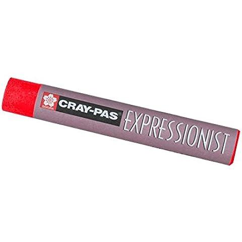 Cray-Pas expresionista en colores pastel Vermilion Hue