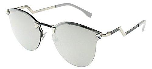 Fendi Damen Sonnenbrille Ff 0040/S Ss Schwarz (Pall Bluee), 60 Preisvergleich