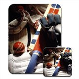 e, Handschuhe & Ball Mauspad & Untersetzer ()