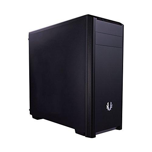 BitFenix Nova  BFX-NOV-100-KKXSK-RP Computer-Gehäuse (Midi-Tower, I/O Anschlüsse 1x USB 3.0 und 1x USB 2.0, 120er-Lüfter vormontiert, ATX, Micro-ATX, Mini-ITX) schwarz