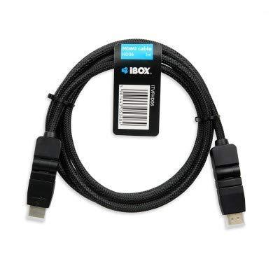 iBox HD06 câble HDMI 2 m HDMI Type A (Standard) Noir par  IBOX