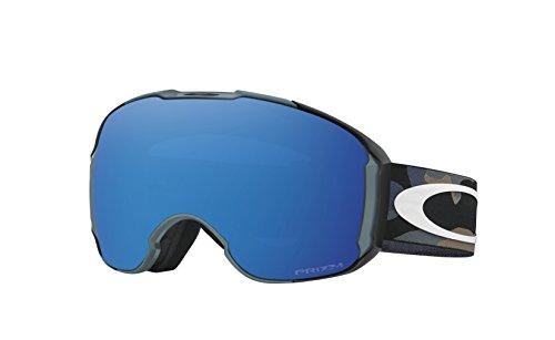 Oakley Herren Airbrake XL 707122 0 Sportbrille, Blau (Mcmorris Sig Camo Fade Bluee/Prizmsapphireiridium), 99