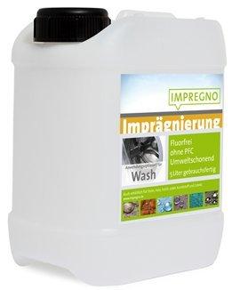 """IMPREGNO Imprägnierung """"Wash"""" 2,5 Liter Waschmaschine/Handwäsche Imprägniermittel fluorfrei umweltfreundlich"""
