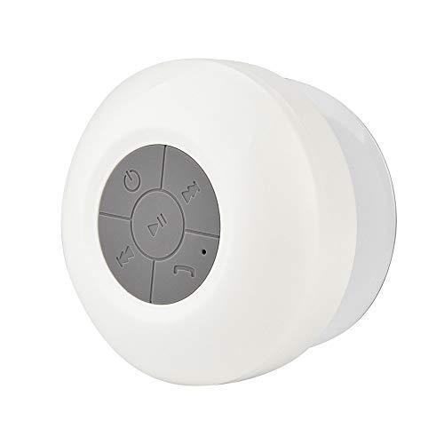 Sencillo Vida Altavoz Bluetooth 3.0 Impermeable Mini Sonido Estéreo con Ventosa para...