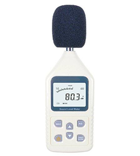 Schallpegelmesser, YH-THINKING Portable Sound Frequenz Meter Digital Decibel Meter Handheld Noise Meter Reichweite: 30-130dBA, 35 ~ 130dBC