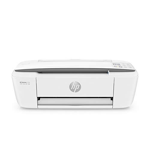HP DeskJet 3750 T8X12B Stampante Multifunzione a Getto di Inchiostro, Stampa, Scannerizza, Fotocopia, Wi-Fi, Wi-Fi Direct, 2 Mesi di Instant Ink Inclusi, Grigio Perla
