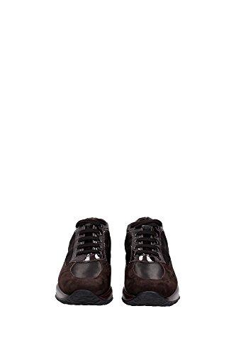 HXW00N0001035X9991 Hogan Sneakers Damen Wildleder Braun Braun
