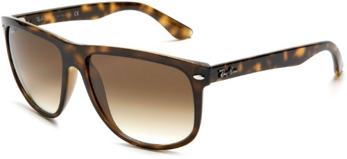 RAYBAN Unisex Sonnenbrille Rb4147 710/51 Braun (Gestell: Havana, Gläser: Hellbraun Verlauf), X-Large (Herstellergröße: 60)