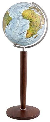 Columbus DUO ALBA Leuchtglobus Standmodell: 51 cm Durchmesser. Mundgeblasene Kristallglaskugel, traditionell handkaschiertes Kartenbild ... anspruchsvoll und von bleibendem Wert)