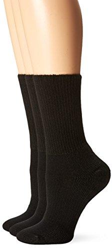 Men's - Women's Walking Moderate Padded Crew Socks