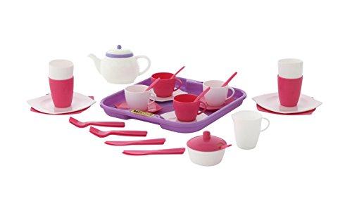 Polesie Polesie58973 - Juego de té de Juguete para Cuatro (35 Piezas)