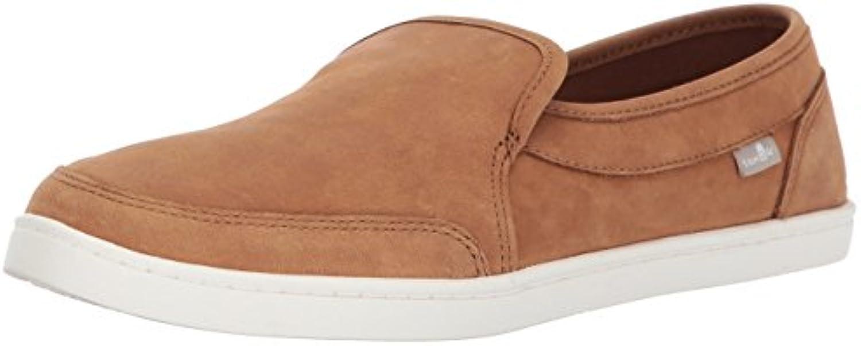 Sanuk Wouomo Pair O Dice Leather Loafer Flat, Tobacco Marronee, 09.5 M US | Diversificate Nella Confezione  | Uomo/Donna Scarpa
