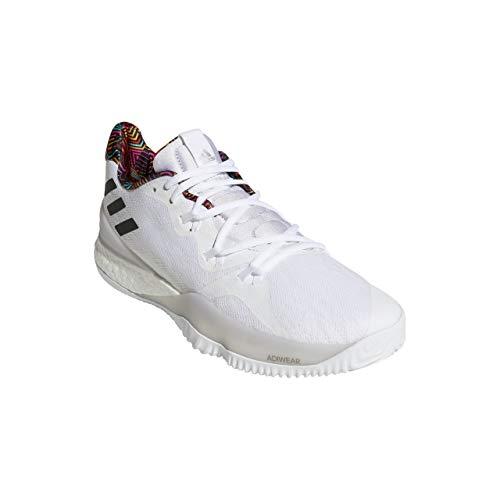 adidas Crazy Light Boost 2018, Zapatos de Baloncesto para Hombre, Blanco Ftwwht/Greone/Grethr, 51 1/3 EU