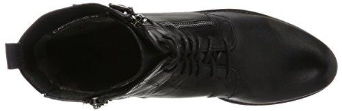 Caprice Damen 25103 Combat Boots Schwarz (42)