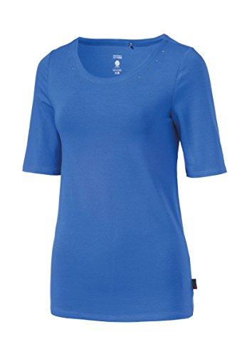 Michaelax-Fashion-Trade - T-shirt de sport - Uni - Femme Rouge - Red - Cranberry (4074)