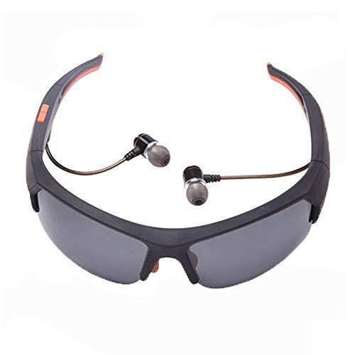 Bluetooth-Sonnenbrille Kabellose, polarisierte Sport-Sonnenbrille, die Blendung durch ultraviolettes Licht widersteht. Unterstützt das Beantworten von Anrufen zum Fahren/Reiten/Klettern