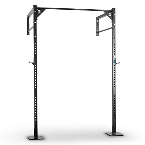 Capital Sports Rack Erweiterungsset C für Capital Sports Fitness Rack CF Box Power Rack (2 zusätzliche Upright Bars, zwei 110 cm Doppel Klimmzugstangen, Paar J-Cups1) schwarz