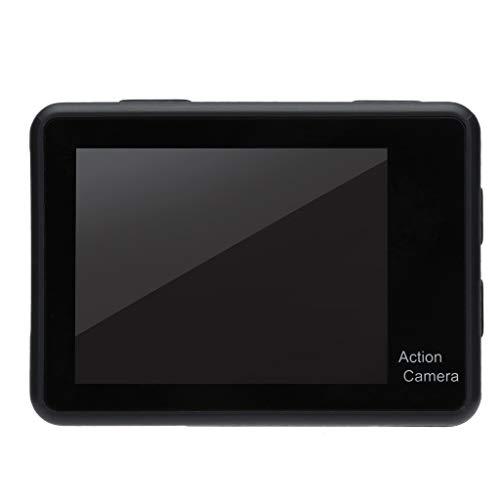 Altsommer Helmkamera, Action Sport Kamera mit 4K 2 Screen 30fps WiFi Sport Full HD 1080P DV DVR Tragbare Sports cam mit Bewegungserkennung und Überwachungskamera, Compact Sicherheit Kamera - Wifi-sicherheits-kameras Mit Dvr