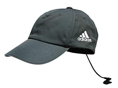 adidas Sailing Damen Herren Functional Cap Schirmmütze Kappe Baseballcap, Farbe:dunkelgrau