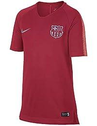 Nike FCB Y NK BRT SQD SS Camiseta, Unisex niños, Rosa (Tropical lt