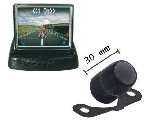 Retrocamera telecamera parcheggio con display 3 5 a for Telecamera amazon