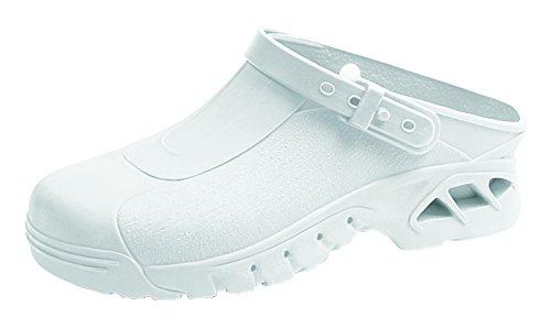 clinicfashion OP-Clog weiß, autokalvierbar, für Damen und Herren, Größe 35-46 Weiß